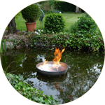 Les 5 éléments : le feu, le métal, le bois, la terre et l'eau.